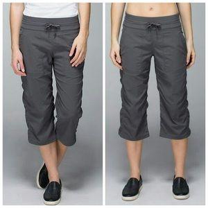 Lululemon Dance Crop Pants Gray 10